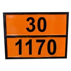 Табличка опасный груз 30-1170 (спирта этилового раствор)
