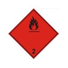 """Знак  """"Класс опасности 2"""" (Легковоспламеняющиеся газы)"""